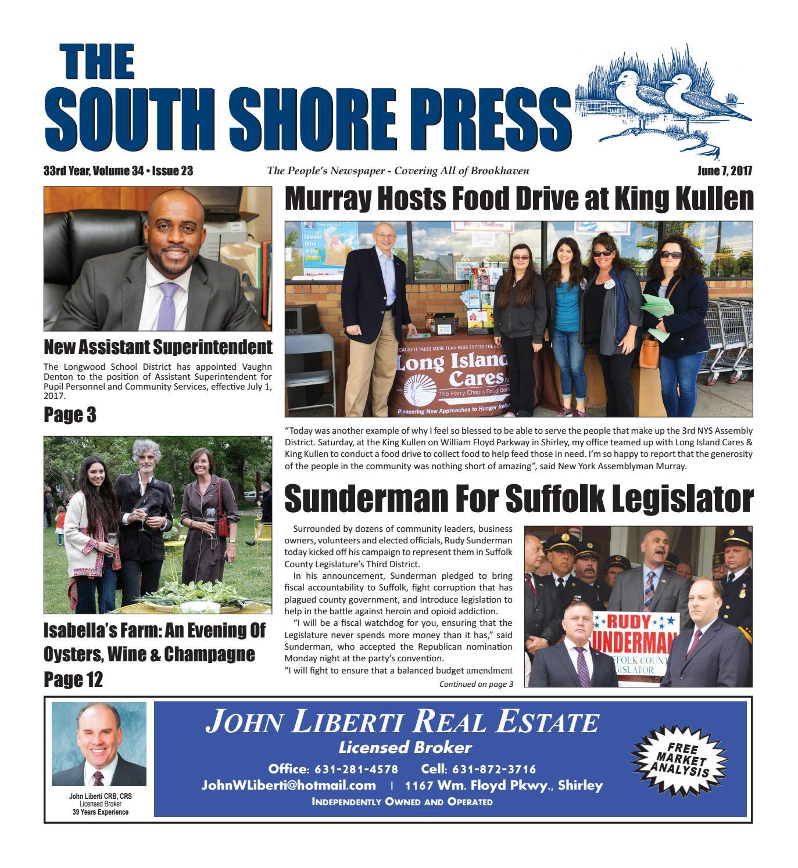 the south shore press 06 07 17 by the south shore press issuu rh issuu com