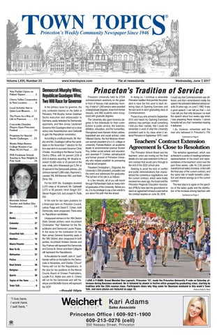 Town Topics Newspaper June 7 2017 By Witherspoon Media Group Issuu