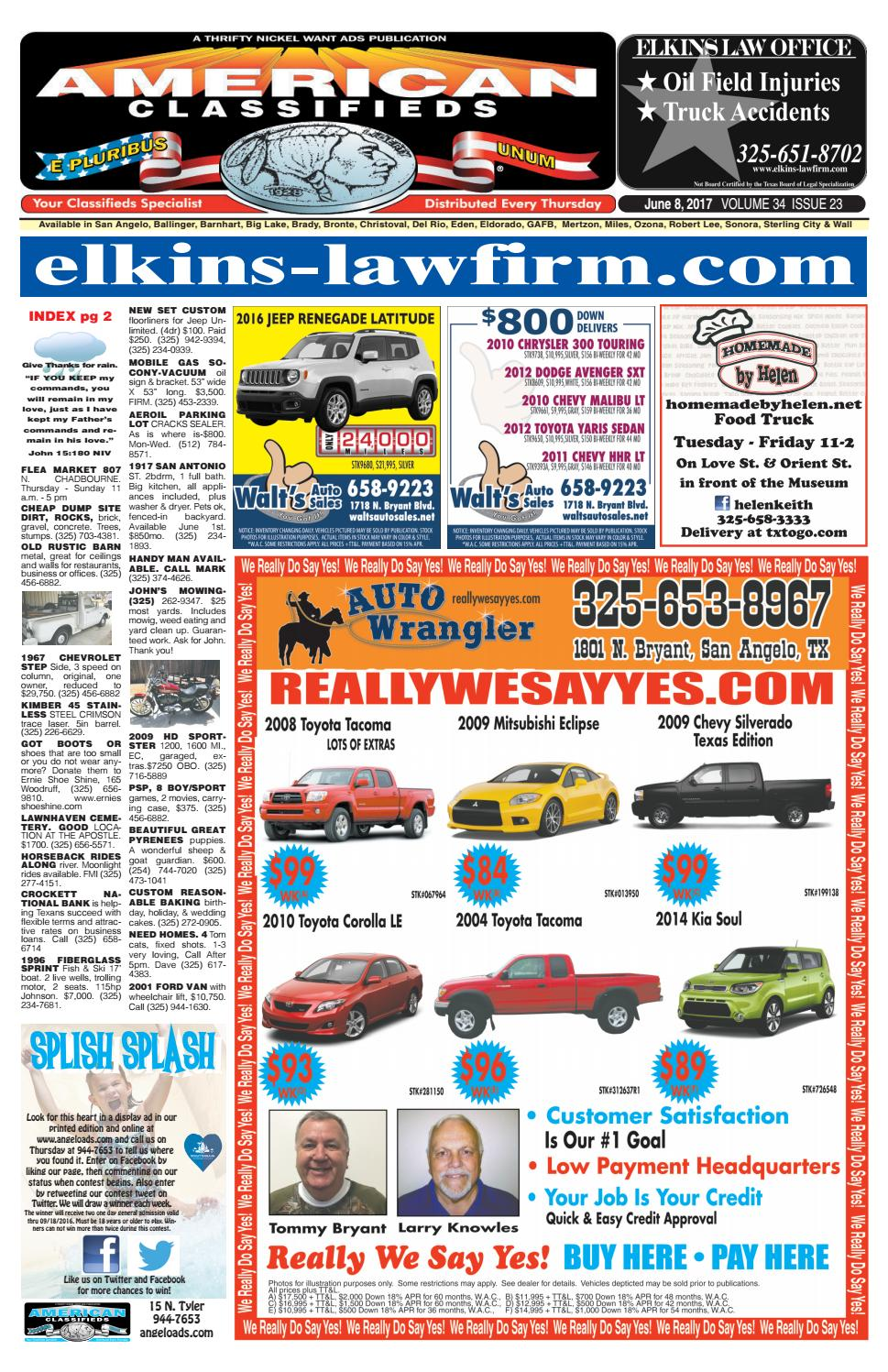 San angelo american classifieds 060817 by san angelo american san angelo american classifieds 060817 by san angelo american classifieds issuu fandeluxe Choice Image