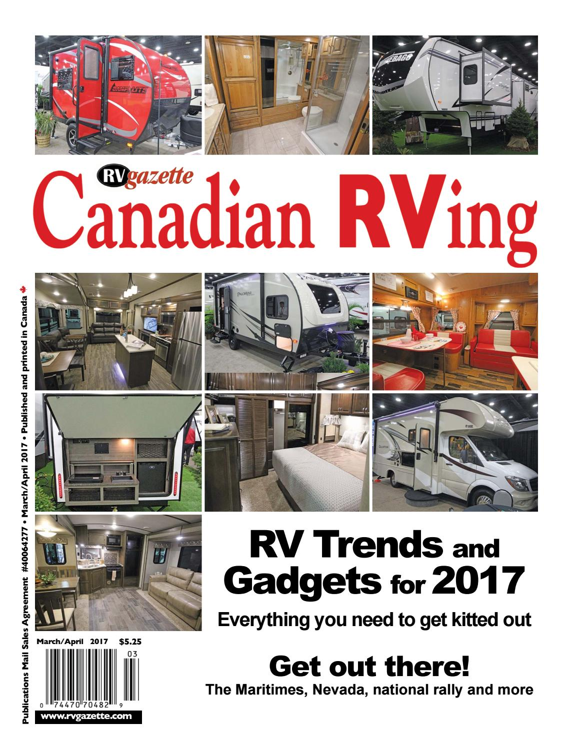 Canadian RVing Mar/Apr 2017 by Dovetail Communications - issuu on