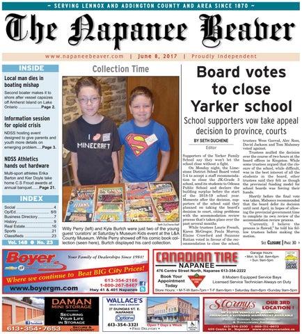 Napanee Beaver June 8, 2017 by The Napanee Beaver - issuu
