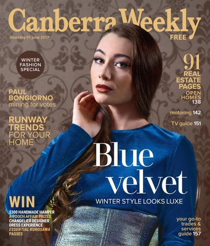d541e05fa15 01 June 2017 by Canberra Weekly Magazine - issuu