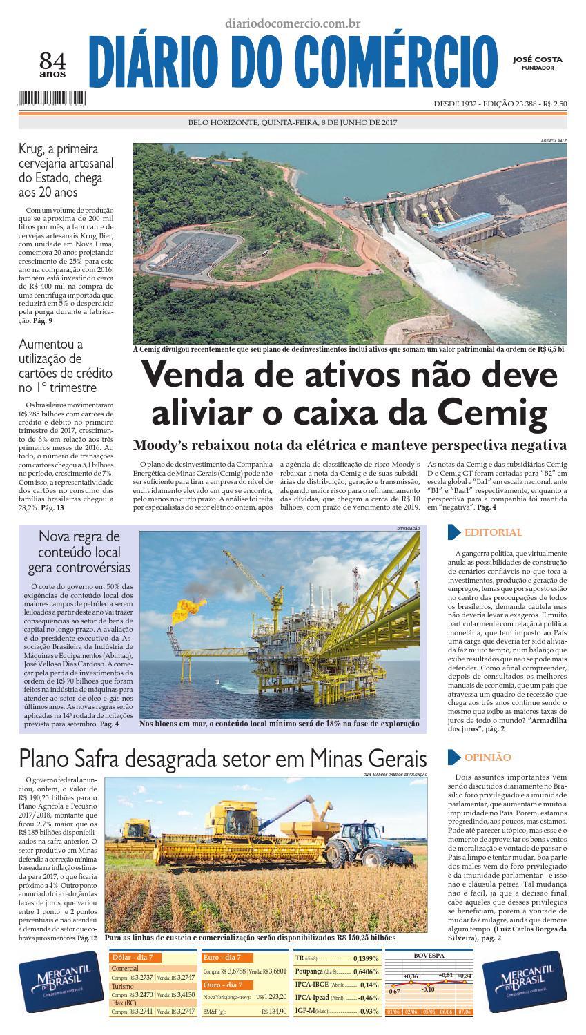23388 by Diário do Comércio - Belo Horizonte - issuu 45db4c0fed