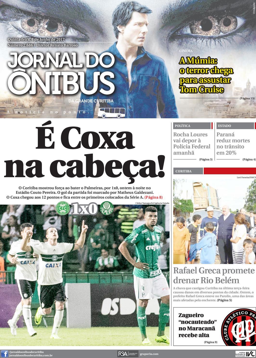 0d192712f48dc Ediktora Jornal do Ônibus - Edição do dia 08-06-2017 by Editora Correio  Paranaense - issuu