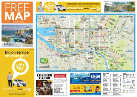 Melbourne Map Autumn Winter 2017 by The Word Australia issuu