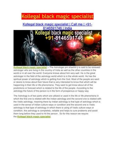 Kollegal Black Magic Specialist by P M Shastri - issuu