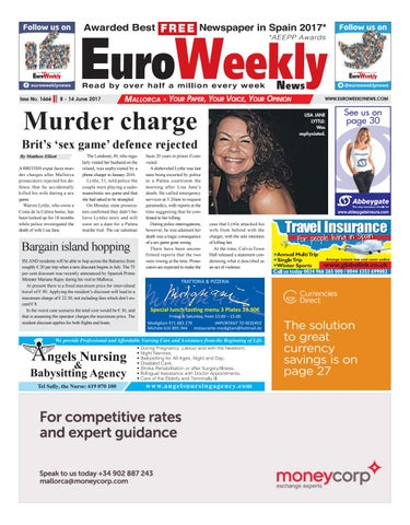 a7cdbbb44567 Euro Weekly News - Mallorca 8 - 14 June 2017 Issue 1666 by Euro ...