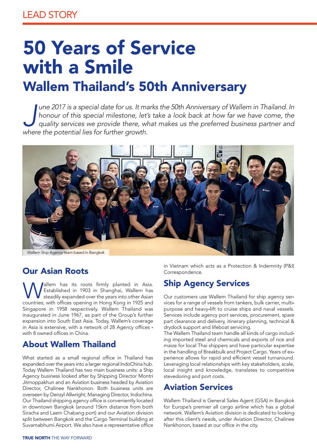 True North 2017 Issue 2 by Wallem True North Magazine - issuu