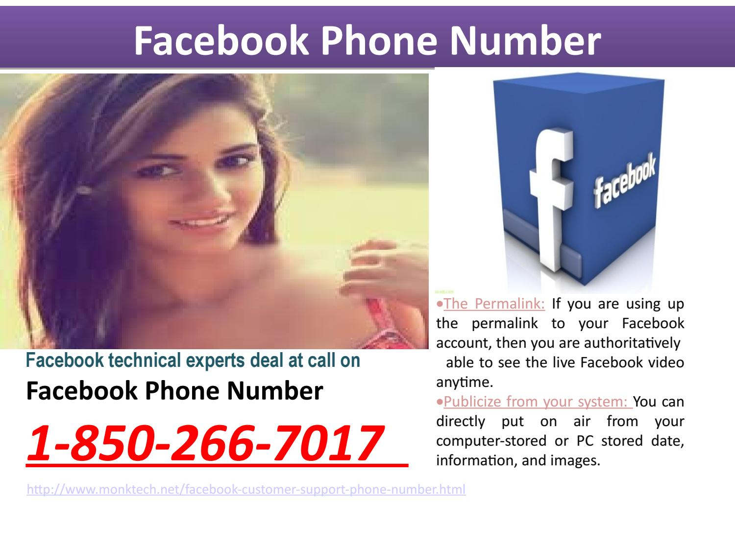 how to find phone number on facebook