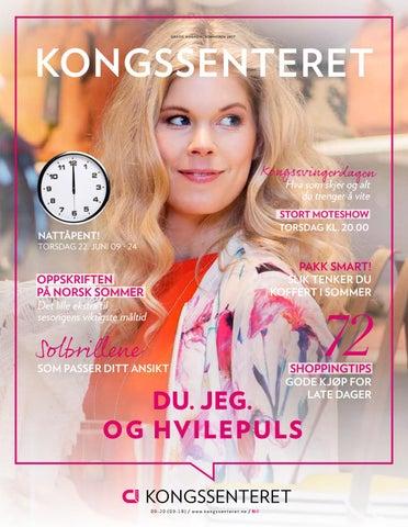 38ed43d499dd Kongssenteret Sommermagasin 2017 by Centerteam - issuu