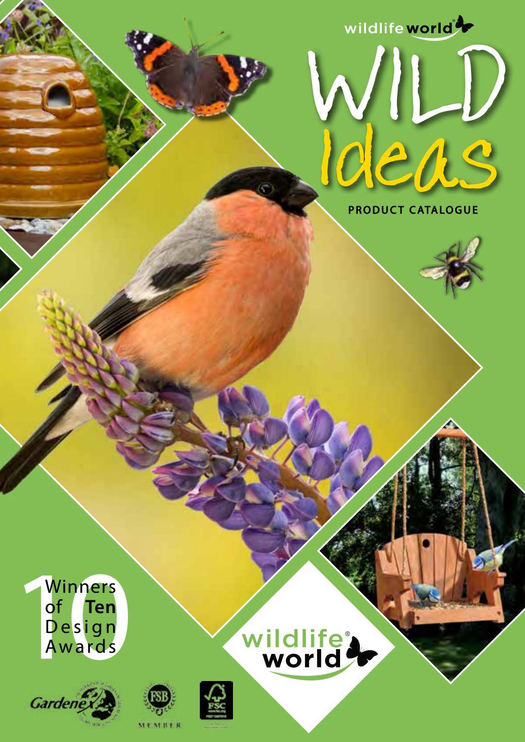 Wildlife World Coniston Garden Wild Bird Bath Ornate 10 Year Guarantee