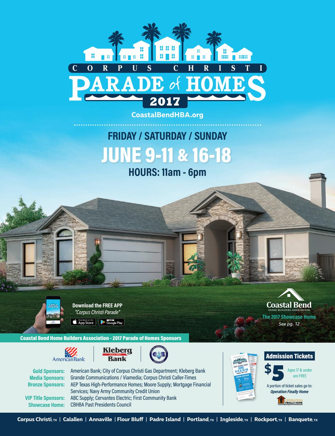 2017 Cbhba Parade Of Homes By New
