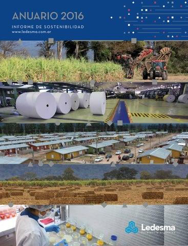 03e9faa925b03 Informe de Sostenibilidad Ledesma 2016 by Somos Ledesma - issuu