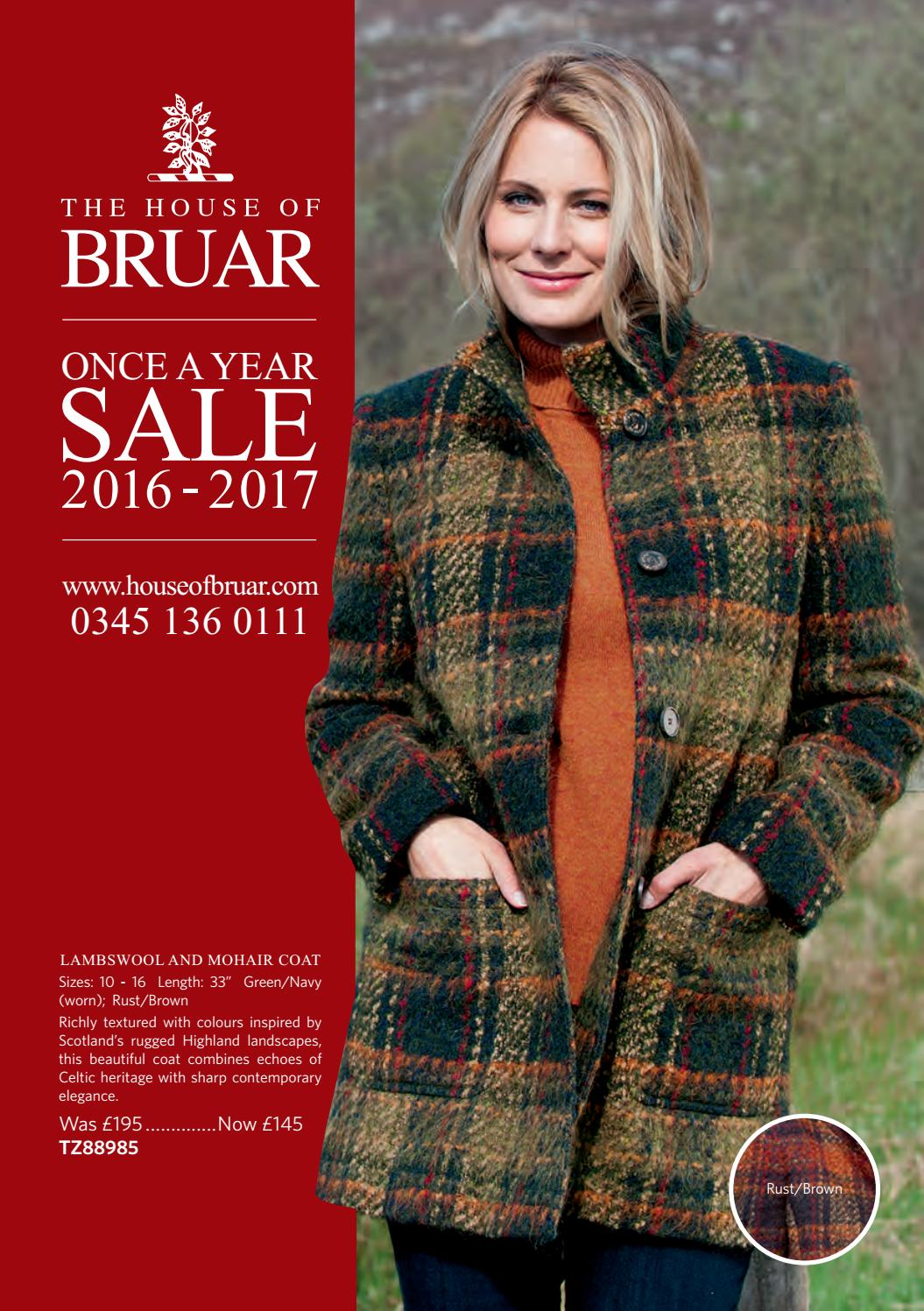 ace92a13 The House de Bruar Once a Year Sale 2016-2017 by André Gonçalves - issuu