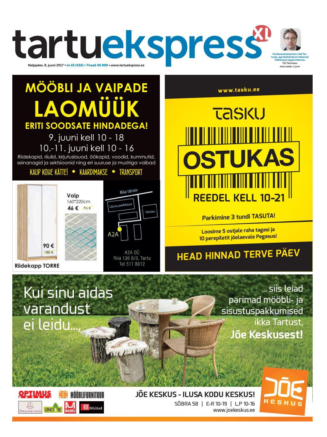d6cd0b3accc Tartu Ekspress, 08.06.2017 by Tartu Ekspress - issuu