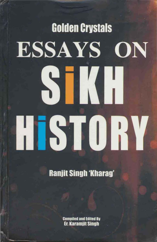 Golden Crystals - Essays on Sikh History - Ranjit Singh