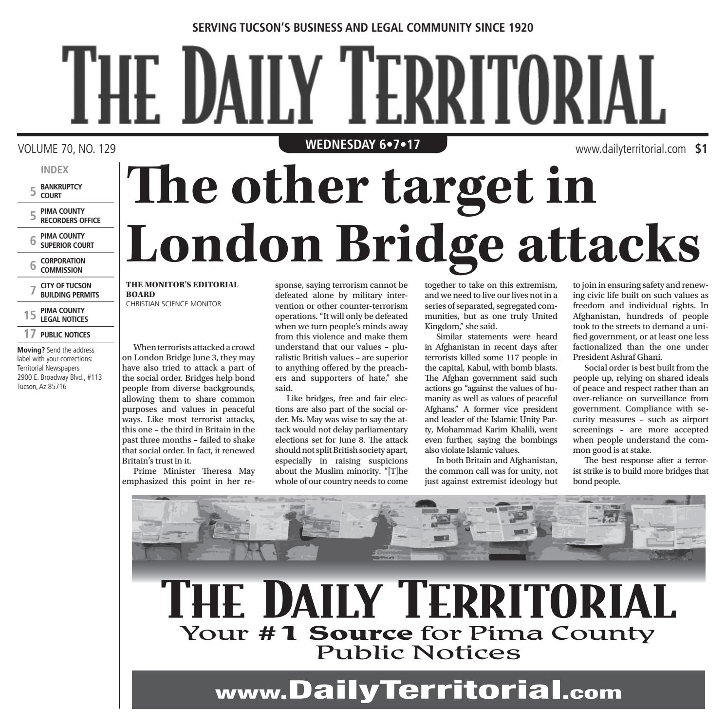 06072017 the daily territorial by wick communications issuu aiddatafo Image collections