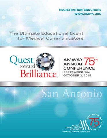 AMWA 2015 Conference Registration Brochure by medical