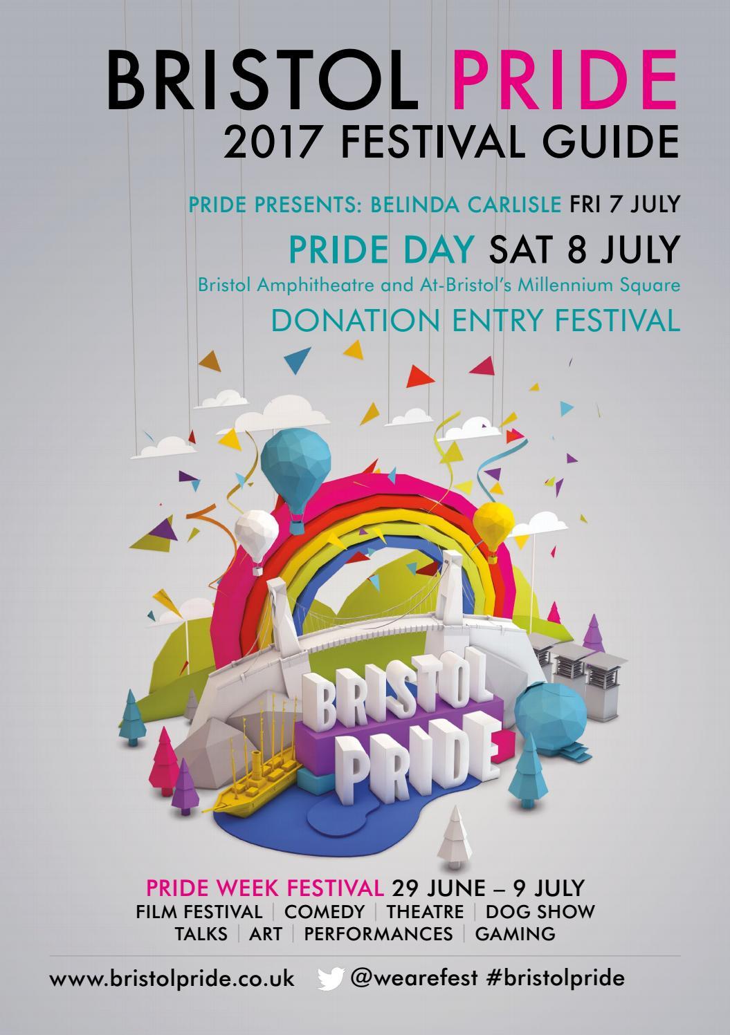 Bristol Pride 2017 Festival Guide by Bristol Pride Festival - issuu
