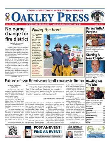 Oakley Press 060917 By Brentwood Press Publishing Issuu
