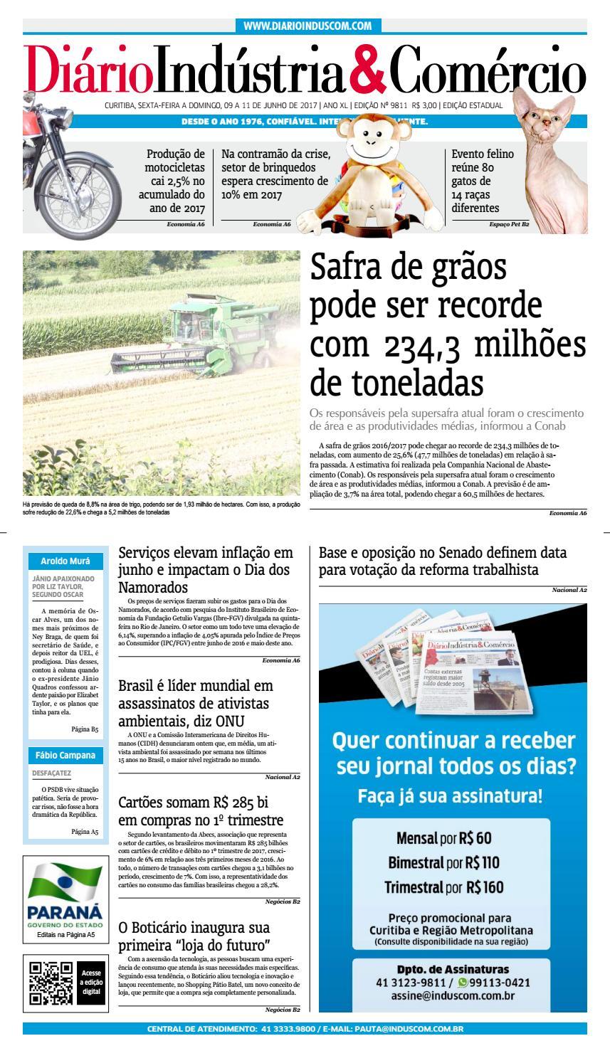 Diário Indústria Comércio - 09 de junho de 2017 by Diário Indústria    Comércio - issuu 5de8ef4168241