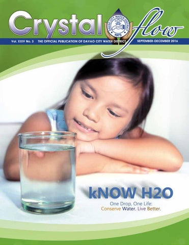 fe2796252fd Crystal Flow 2015 January - April by Davao City Water District - issuu