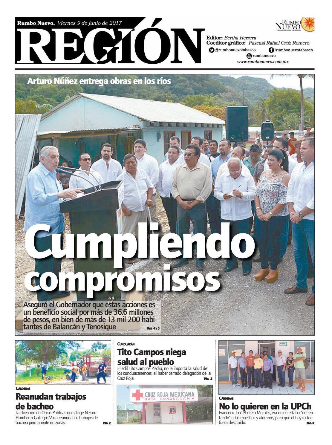 Región. Viernes 9 de junio de 2017 by Grupo Rumbo Nuevo - issuu