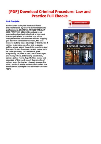 Criminal procedure law and by J  K  Rowling - issuu
