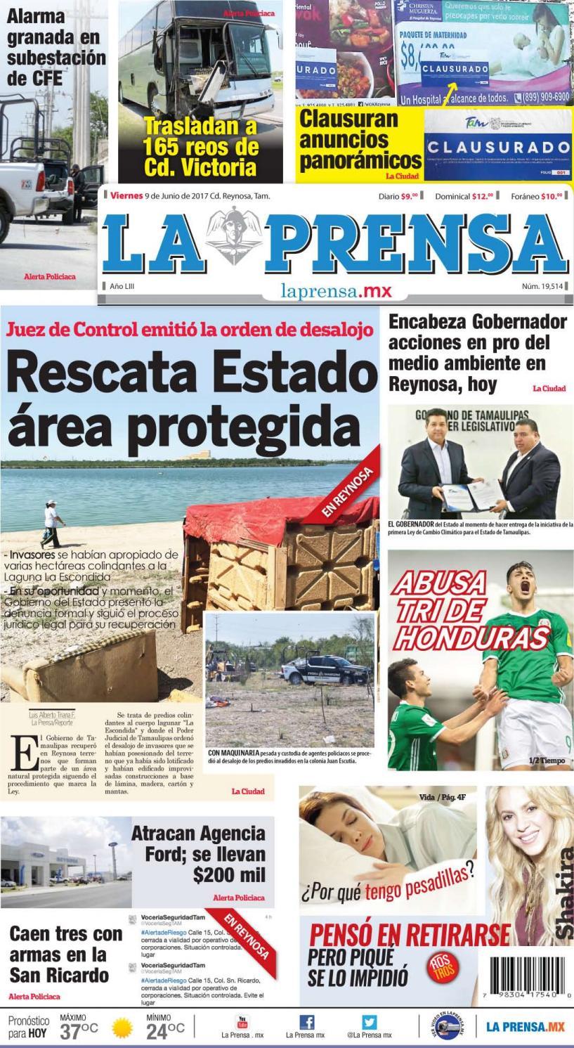 Abusando De Ella A Escondidas Porno laprensa090617la prensa de reynosa - issuu