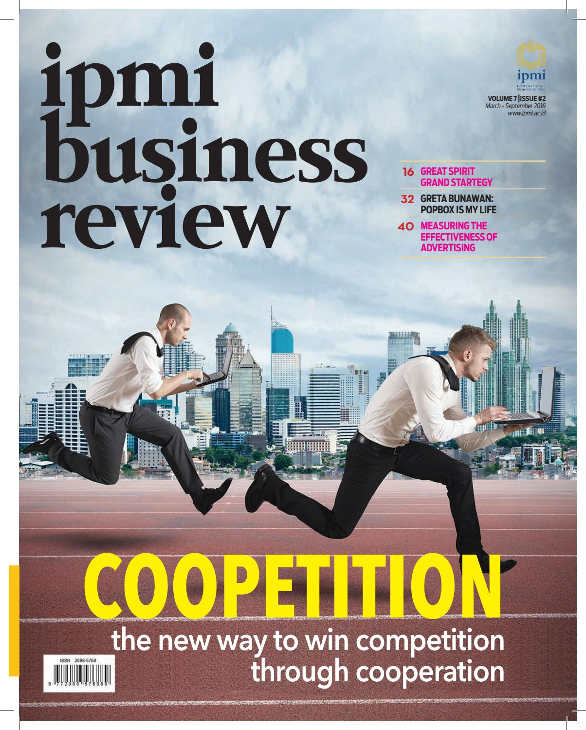 Ipmi Business Review Vol 2 By International School Playstation Network Card Idr 200000 Issuu