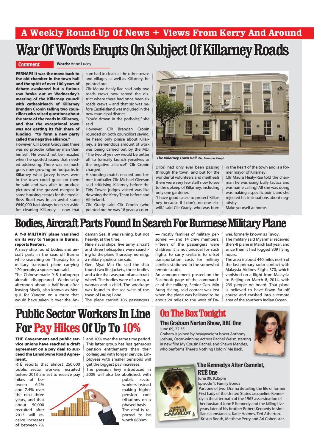 Killarney Advertiser 9th June, 2017 by Killarney Advertiser