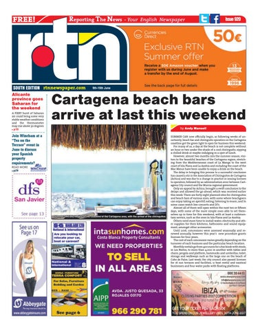 49abad7eb RTN Newspaper - Costa Blanca South 9 - 15 June 2017 Issue 920 by ...