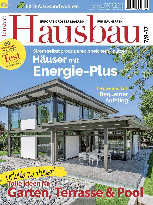 hausbau 7 8 2017 by fachschriften verlag issuu. Black Bedroom Furniture Sets. Home Design Ideas