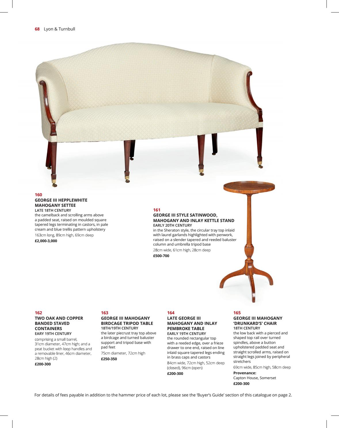 Cool Fine Furniture Works Of Art 5Th July 10Am By Lyon Uwap Interior Chair Design Uwaporg