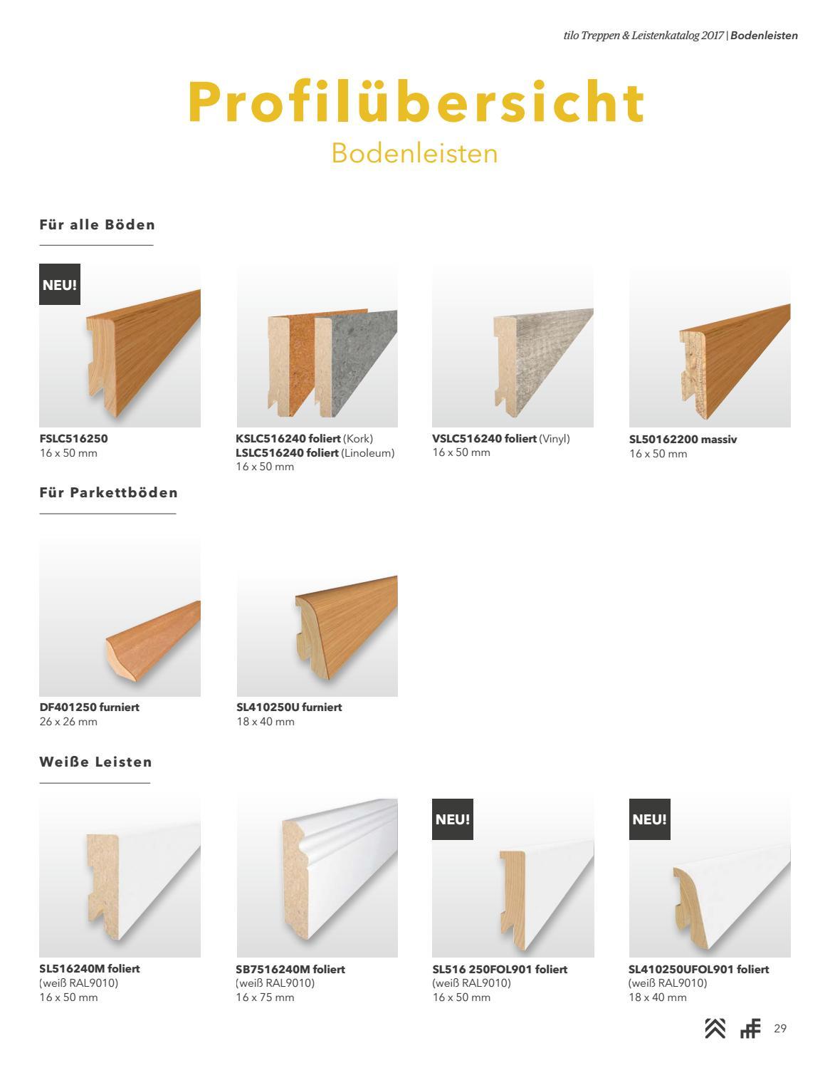 tilo treppen/bodenleisten by kaiser design - issuu