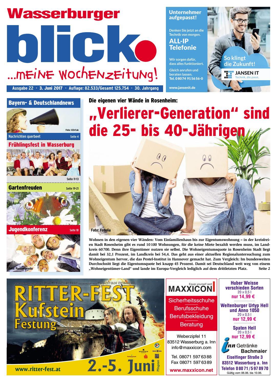 5becc98ccee5f7 Wasserburger blick - Ausgabe 22