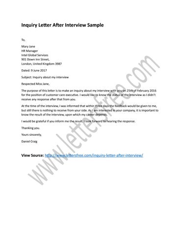 Sample Of Inquiry Letter from image.isu.pub
