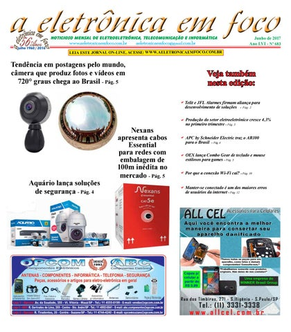 32e2f68d8 Edição Junho 2017 by A Eletronica em Foco - issuu