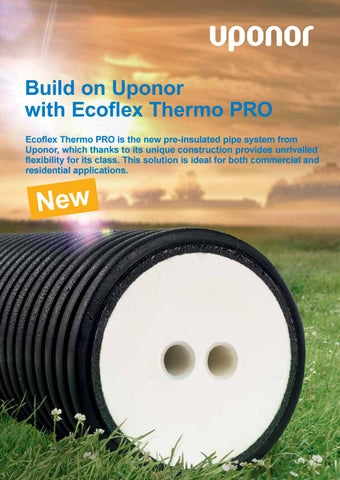 Ecoflex thermo pro brochure by Uponor UK - issuu
