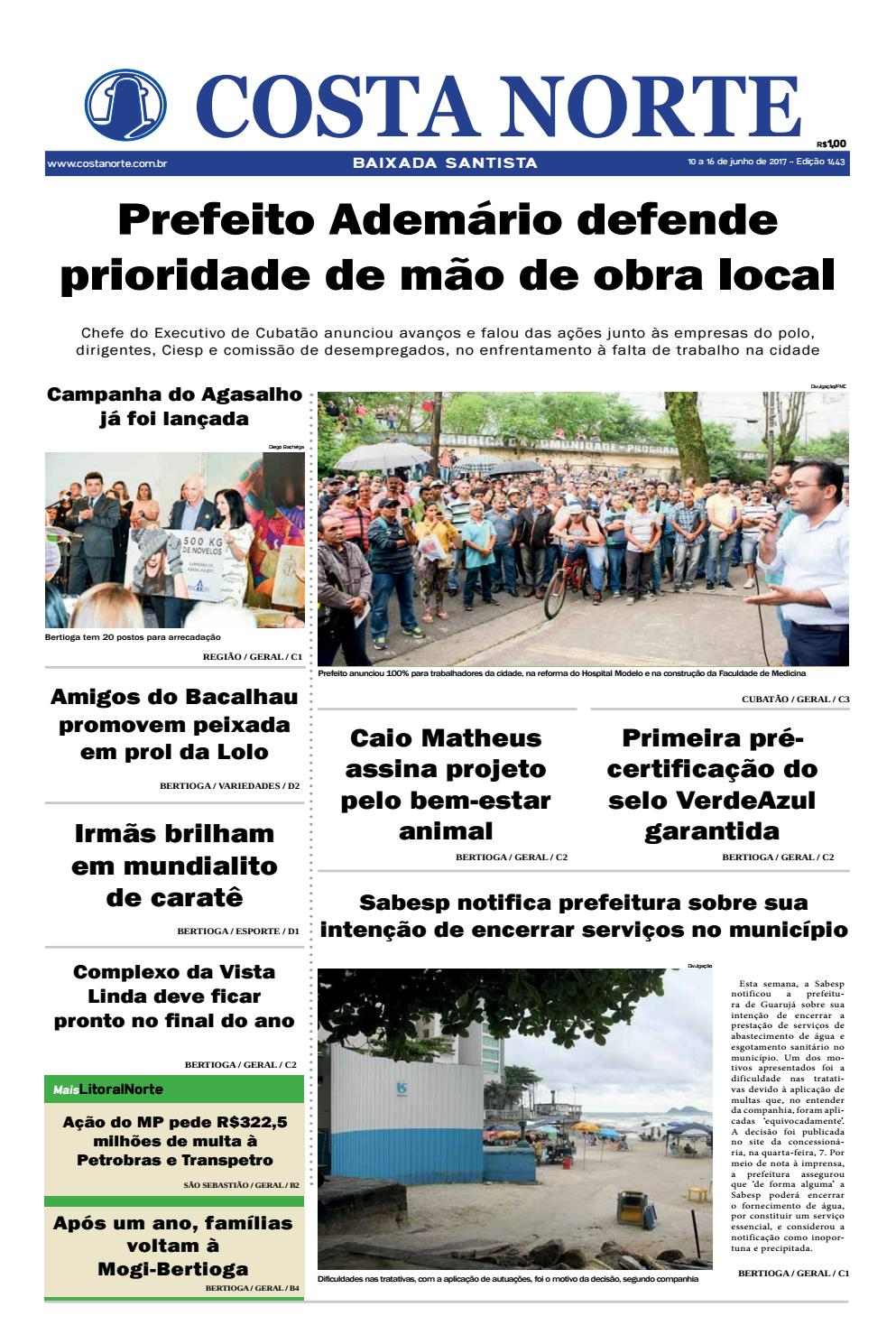 Jornal costa norte 1443 by Costa Norte - issuu 36c5f88bf19c6