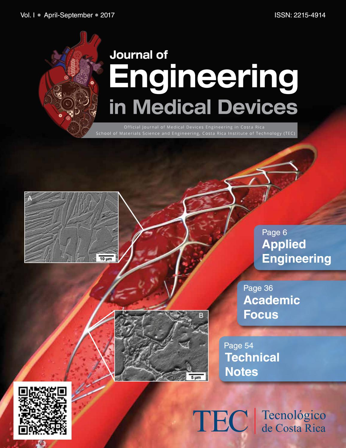 Journal of Engineering in Medical Devices Nº 1 by Medical Devices ...