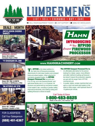 Lumbermens Magazine | Used Equipment | May 2017 by
