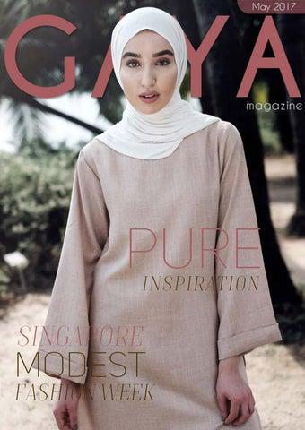 GAYA Magazine May 2017 - Hijab   Modest Fashion for today s Muslim woman 621bc4fb4