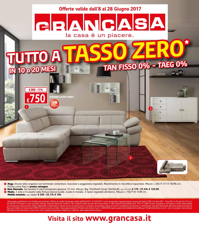 Grancasa Divani Letto Angolari.Grancasa 28giu By Best Of Volantinoweb Issuu
