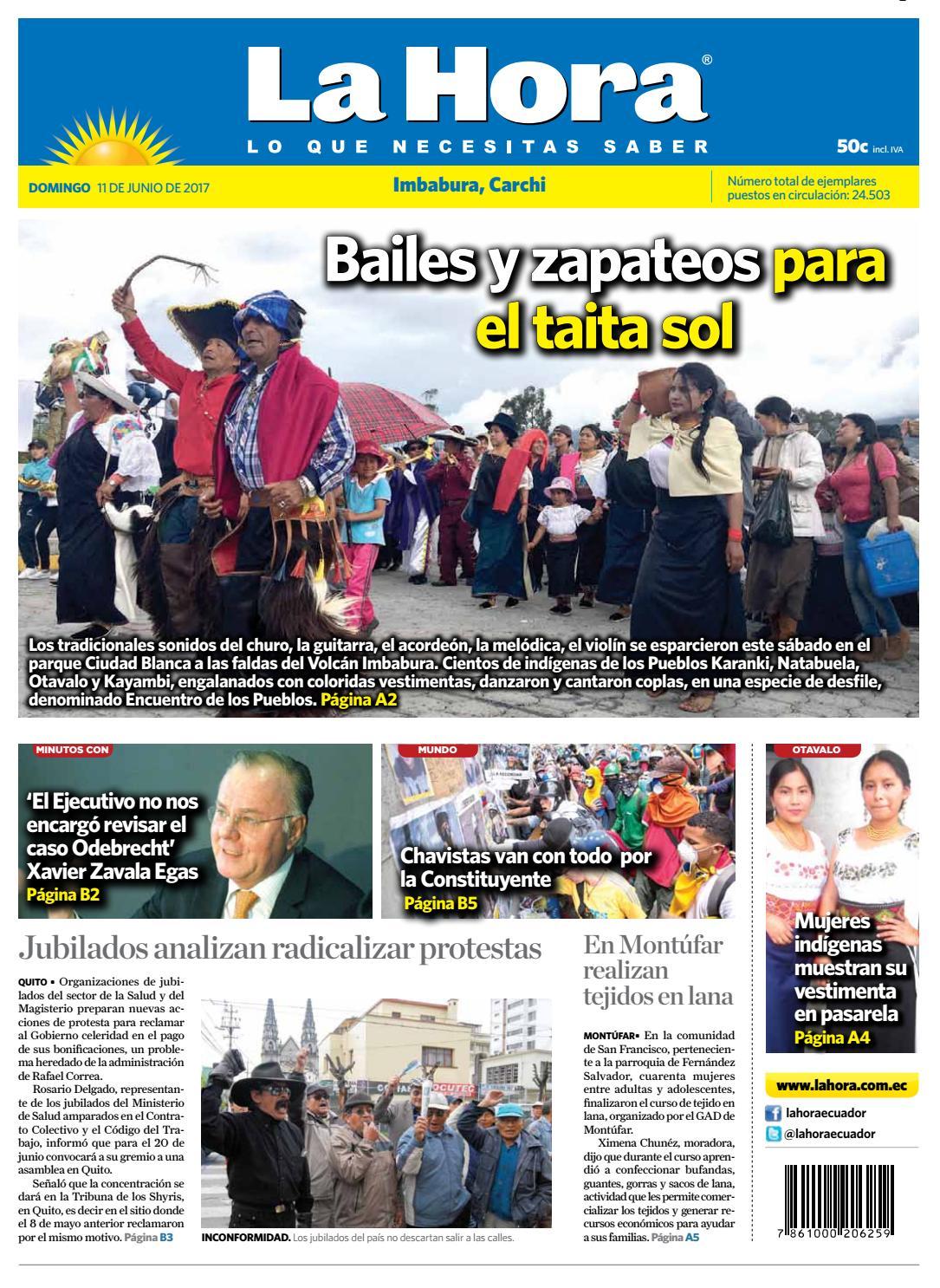 Imbabura carchi 11 de junio del 2017 by Diario La Hora Ecuador - issuu