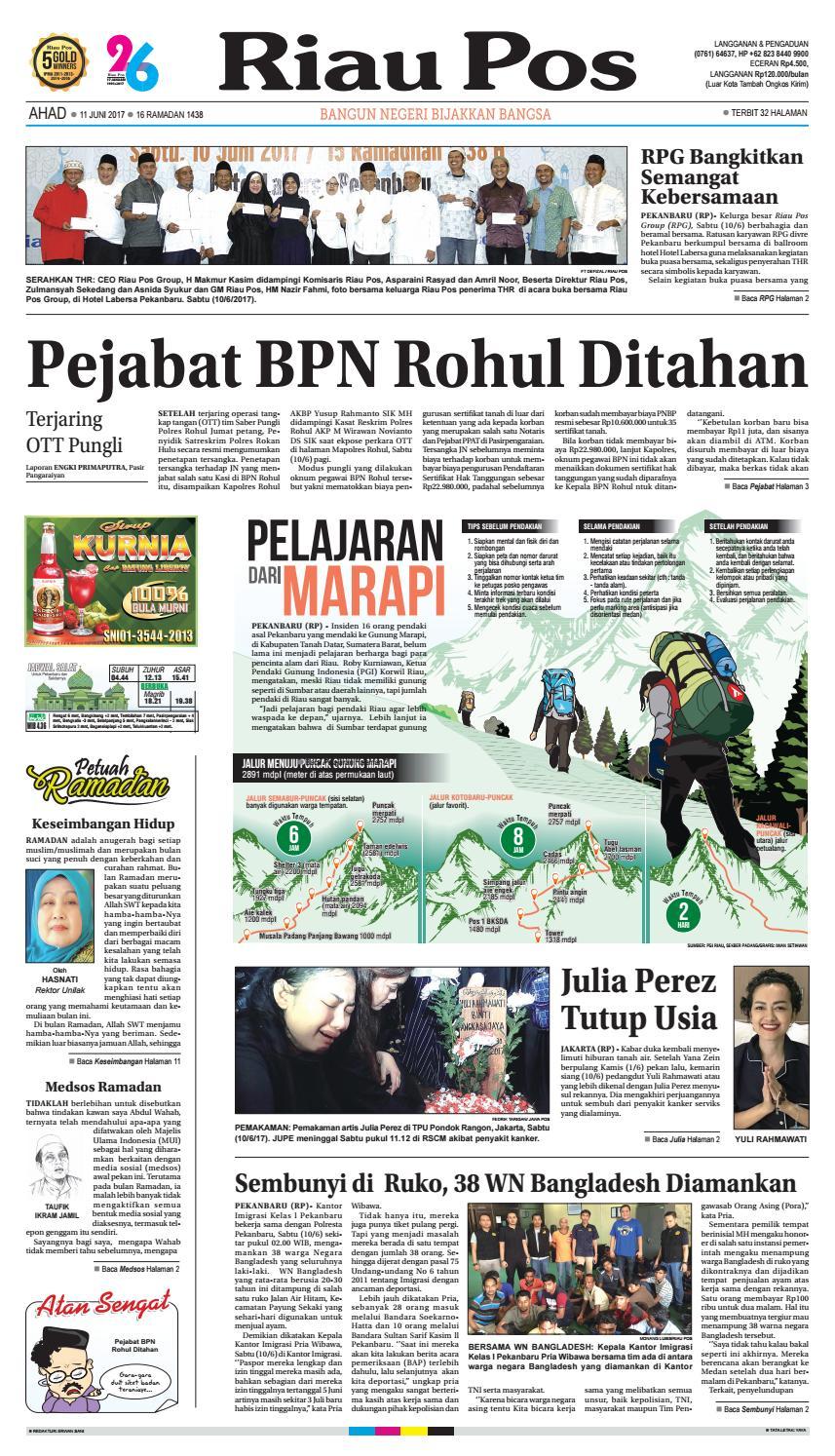 2017 06 11 By Riau Pos Issuu Ic 555 Motorcycle Alarm Circuit Koleksi Skema Rangkaian Artikel