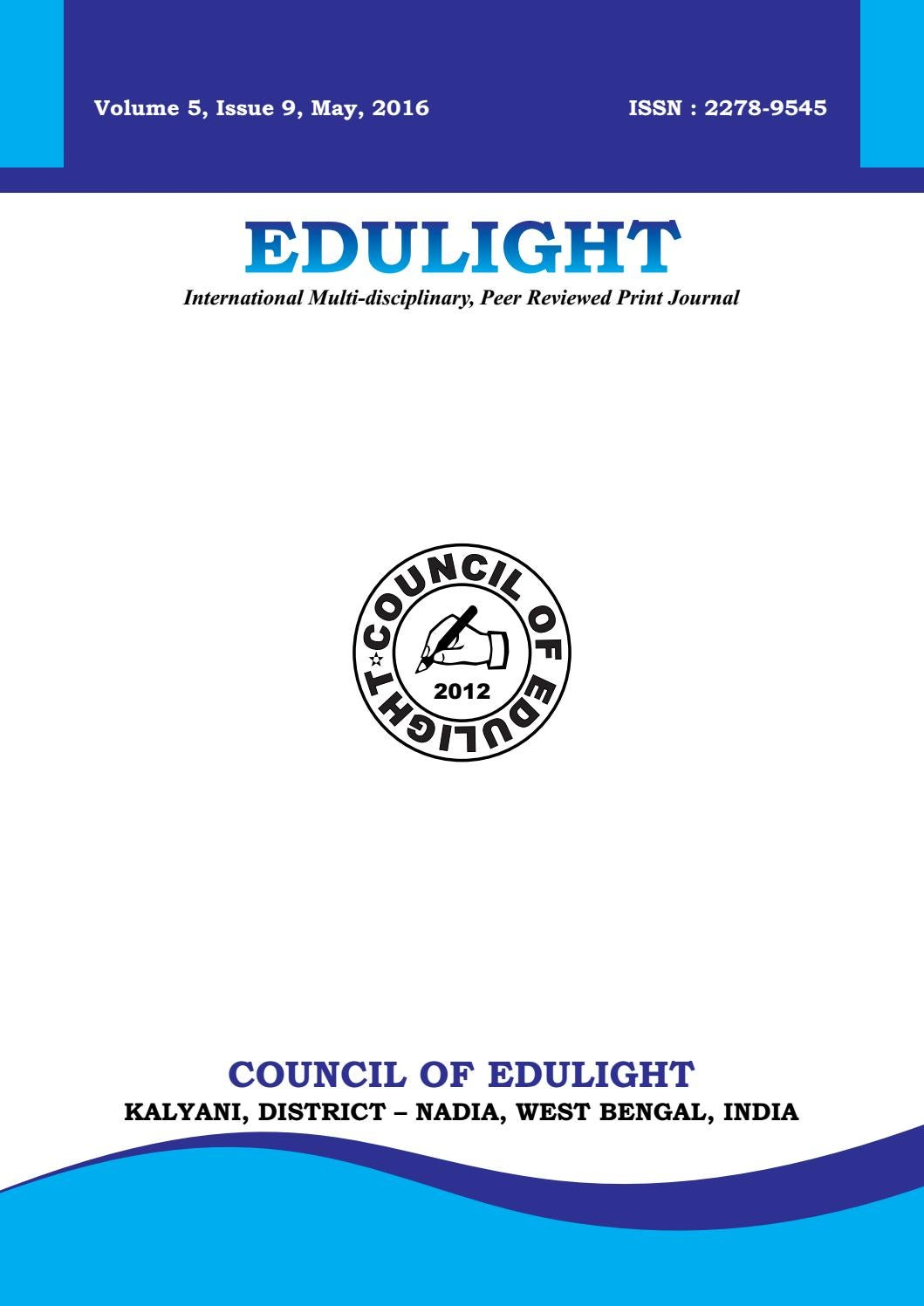 Edulight volume 5 issue 9 may 2016 by edulight journal issuu fandeluxe Gallery