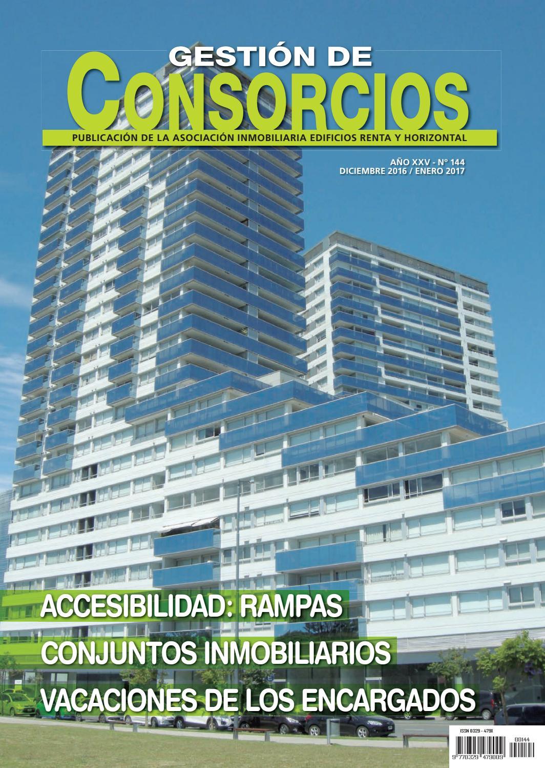 Gestión de Consorcios Nº144 by COLOR&TEXTURA - issuu