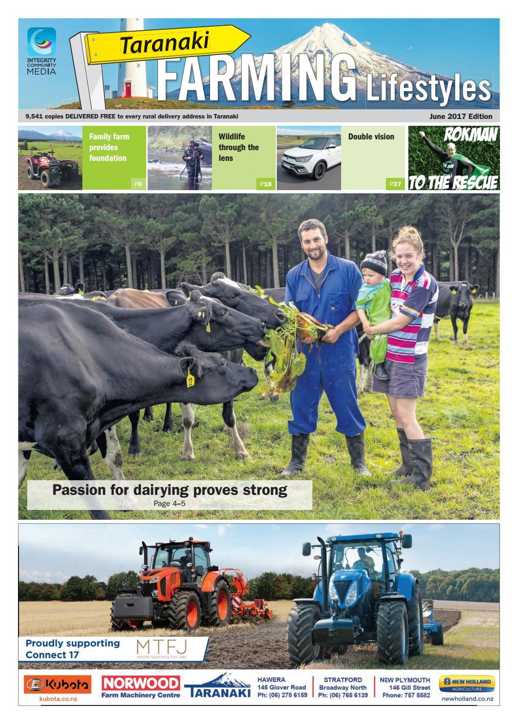 Taranaki Farming Lifestyles June 2017 by NorthSouth Multi Media Ltd - issuu