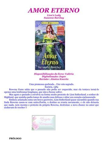 Amor Eterno By Patr 237 Cia Martins Fonseca Issuu